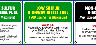 low sulfur warning labels